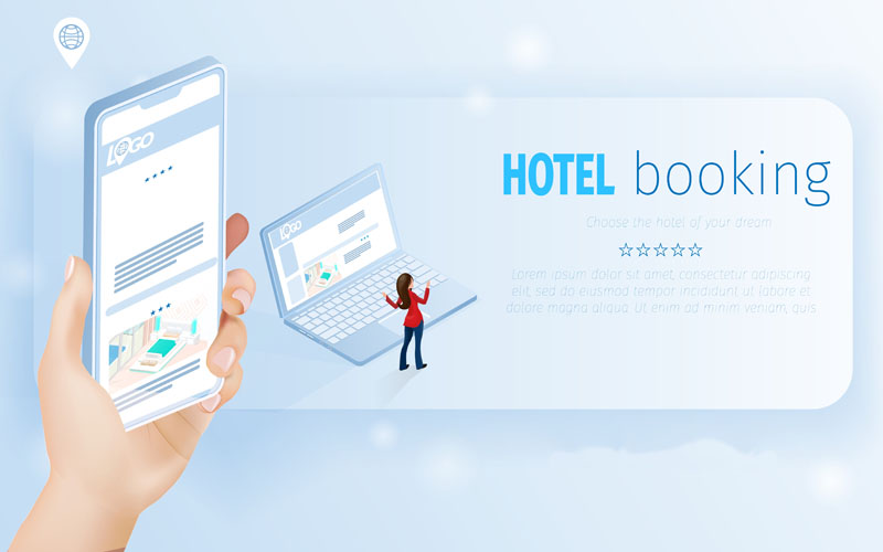 Online interfaces for hotels in Israel